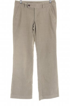 Esprit Pantalon en velours côtelé chameau style rétro