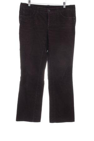 Esprit Pantalón de pana marrón oscuro Estilo años 90