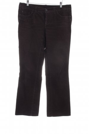 Esprit Corduroy Trousers dark brown '90s style