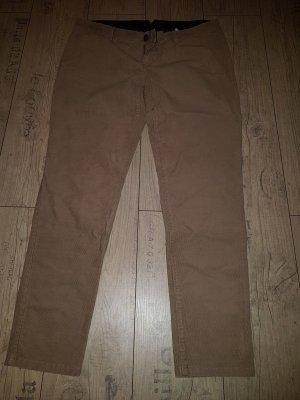 Esprit Pantalone di velluto a coste marrone chiaro-color cammello