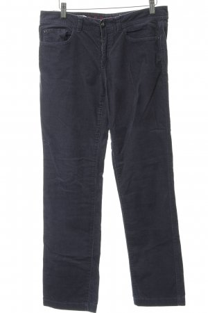 Esprit Corduroy Trousers slate-gray-silver-colored casual look