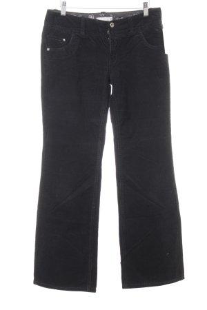 Esprit Corduroy broek zwart casual uitstraling
