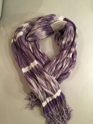 Esprit Fringed Scarf multicolored mixture fibre