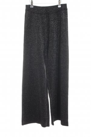 Esprit Culottes schwarz-silberfarben Casual-Look