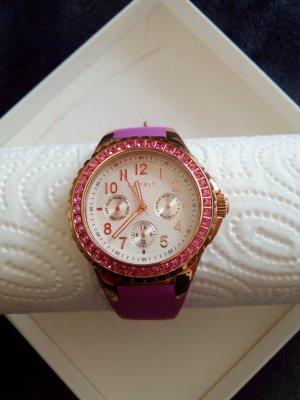 "ESPRIT Damen-Armbanduhr ""Benicia"" rosegold ES106622"