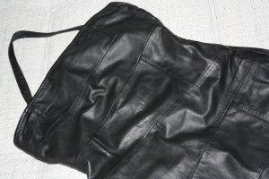 ESPRIT Damen Bandeau Leder Kleid/ Mini Schwarz Gr.36 *NEU* NP:199,90€