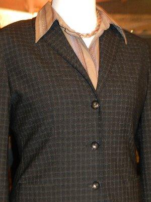 ESPRIT Damen Blazer kariert,Women`s Collection, Blazer + Bluse Gr.38 -TOP