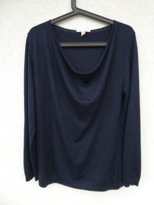 Esprit – Damen Feinstrick-Pulli, dunkelblau - Gebraucht, fast wie neu