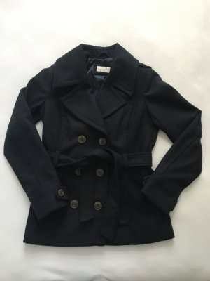 ESPRIT Damen Jacke dunkelblau mit Knopfleiste, Gr. 36