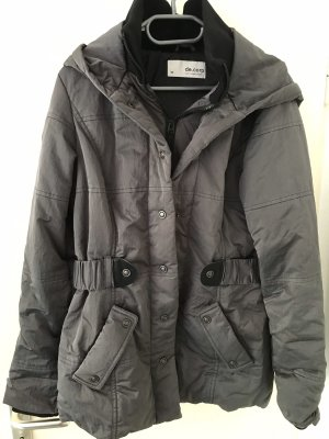 Esprit Damen Jacke mit Kapuze grau Größe 38 *neuwertig*