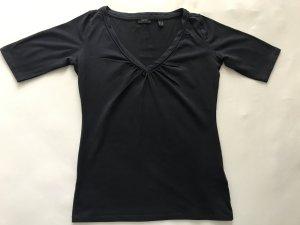 ESPRIT Damen Kurzarmshirt dunkelblau, Gr. S