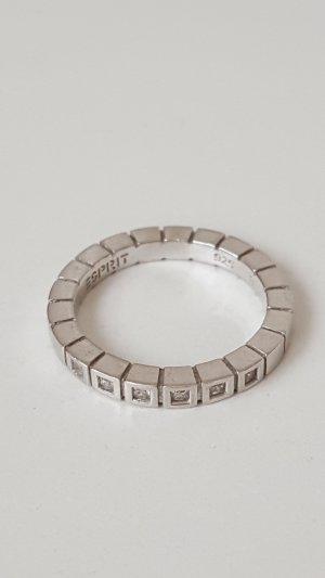 Esprit Silver Ring silver-colored