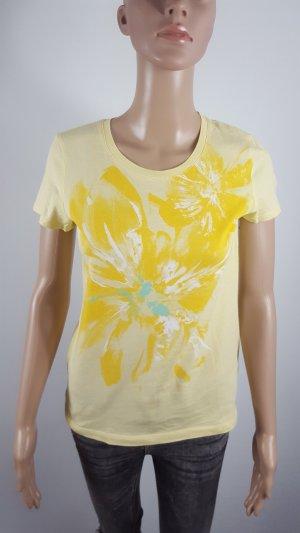 Esprit Camiseta amarillo Algodón