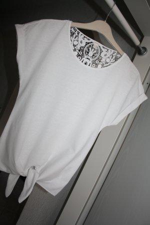Esprit Damen T-Shirt Gr.XS Weis