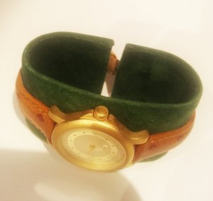 ESPRIT Damen Uhr *Gold/Braun*