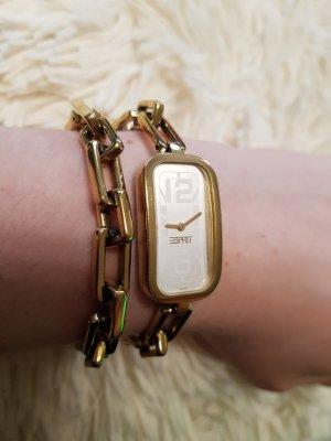 Esprit Damen Uhr in gold Modell 100772