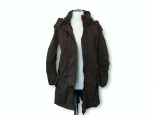 Esprit Damenjacke mit Kapuze, Outdoor-Jacke, Mantel,lang, warm, Winterjacke, Größe M, braun!