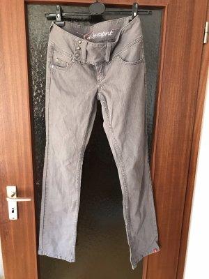 edc by Esprit Jeans a sigaretta grigio chiaro-grigio