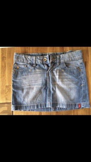 edc by Esprit Jupe en jeans bleu azur-bleu acier
