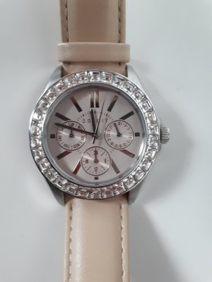 Esprit Reloj color plata-crema