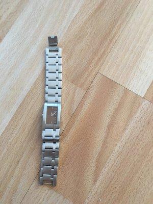 Esprit Montre avec bracelet métallique argenté-brun foncé