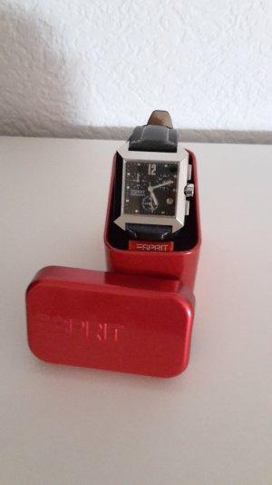ESPRIT Damenuhr Chronograph, sportlich, elegant, schwarz, 1x getragen, wie neu!!