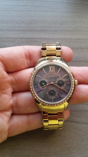 ✿ Esprit Damenuhr ES107782003 gold ✿