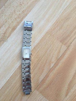 Esprit Montre avec bracelet métallique argenté-blanc