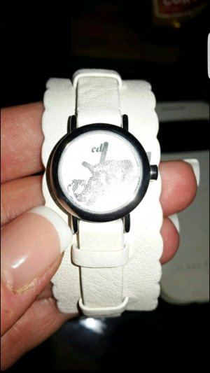Esprit Watch white-silver-colored