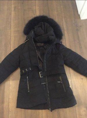 Esprit Daunen Mantel schwarz Größe 40