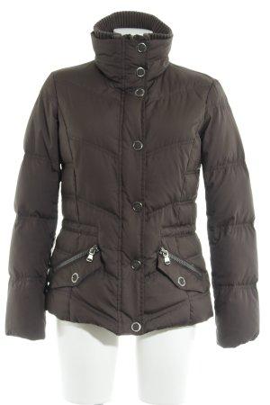 Esprit Doudoune gris brun style décontracté