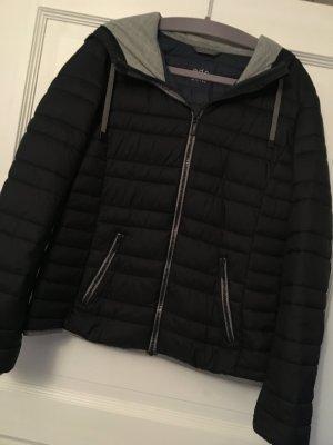 Esprit Daunenjacke Jacke schwarz grau Gr. S