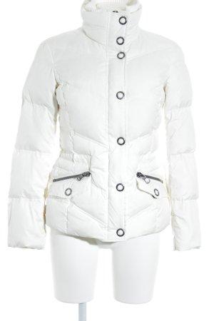 Esprit Piumino bianco sporco-argento stile semplice