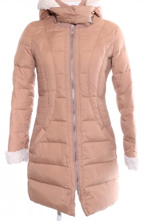 Esprit Down Coat nude quilting pattern casual look