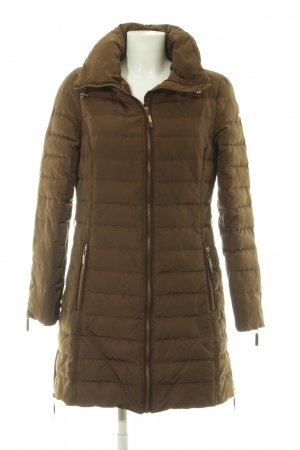 Esprit Down Coat green grey-brown quilting pattern casual look