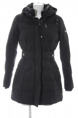 Esprit Down Coat black quilting pattern simple style