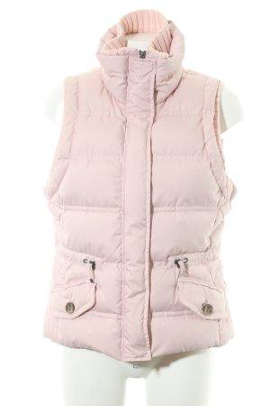 Esprit Donsvest stoffig roze zakelijke stijl