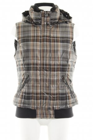 Esprit Donsvest glencheck patroon casual uitstraling