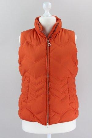 Esprit Daunenweste orange Größe L 1709320100497