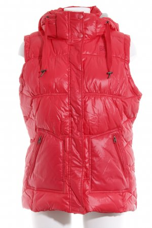 Esprit Donsvest rood casual uitstraling