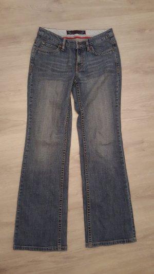 de.corp by Esprit Boyfriend jeans petrol-cadet blauw