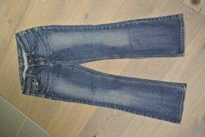 Esprit Denim 94/07 in Gr. 28 30 fester Jeans Stoff, Straight bis BootCut