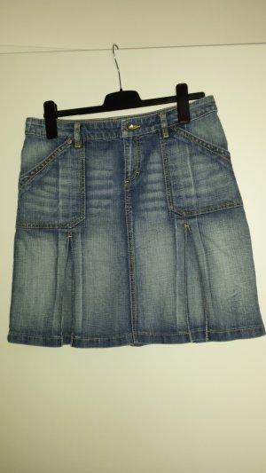 Esprit Jupe en jeans bleu