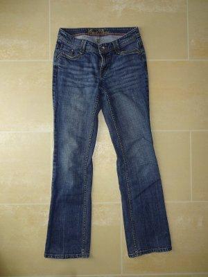 Esprit Jeans svasati blu scuro