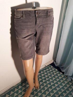 Esprit Denim Shorts M 40 Grau 3 / 4 länge neuwertig