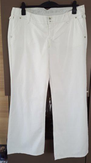 Esprit Denim, weiße sommerlich leichte Jeans, Gr. 44 short