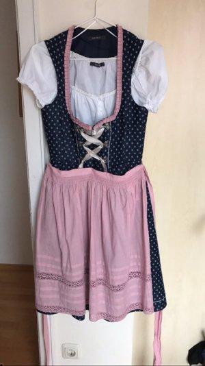 Esprit Dirndl blau/rosa
