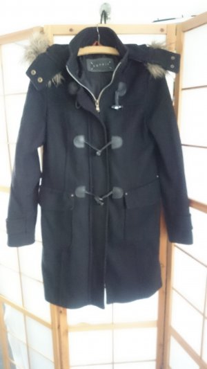 Esprit Duffel Coat black wool