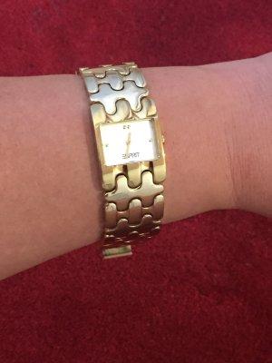 Esprit Reloj con pulsera metálica color oro