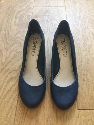 Esprit Mary Jane Pumps dark blue